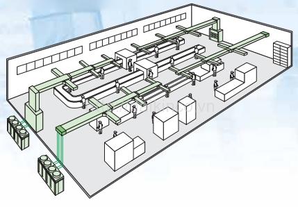 Điều hòa giấu trần nối ống gió Daikin packaged FDR05NY1/RUR05NY1 (3 pha)